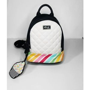 Betsey Johnson Cupcake Mini Backpack